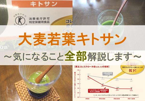大麦若葉青汁キトサンの詳細